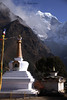78 Tengboche Gompa and Thamserku