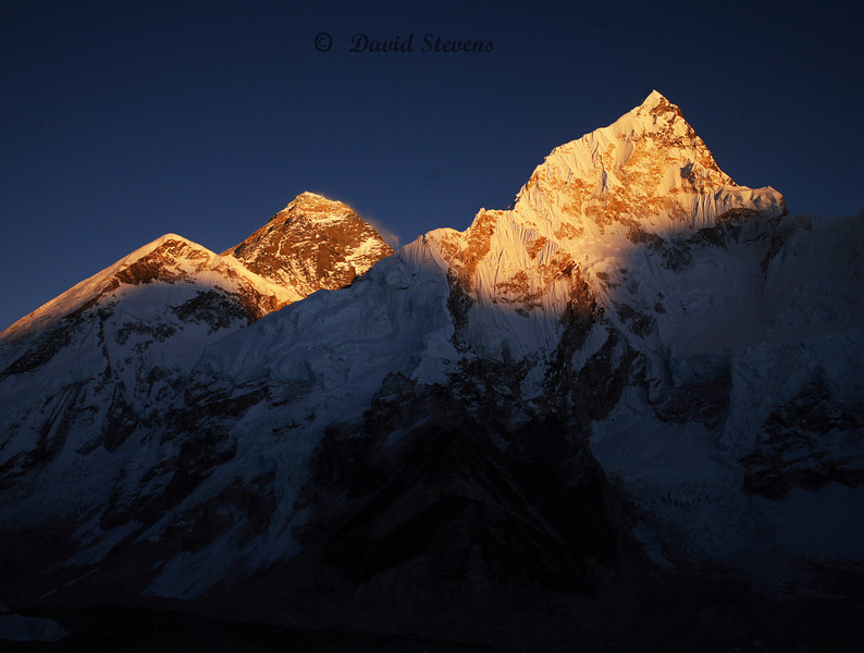 72 Everest sunset
