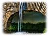 A water feature a Bellingrath Gardens in Alabama