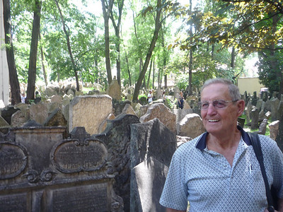 At the Jewish Cemetery in Prague