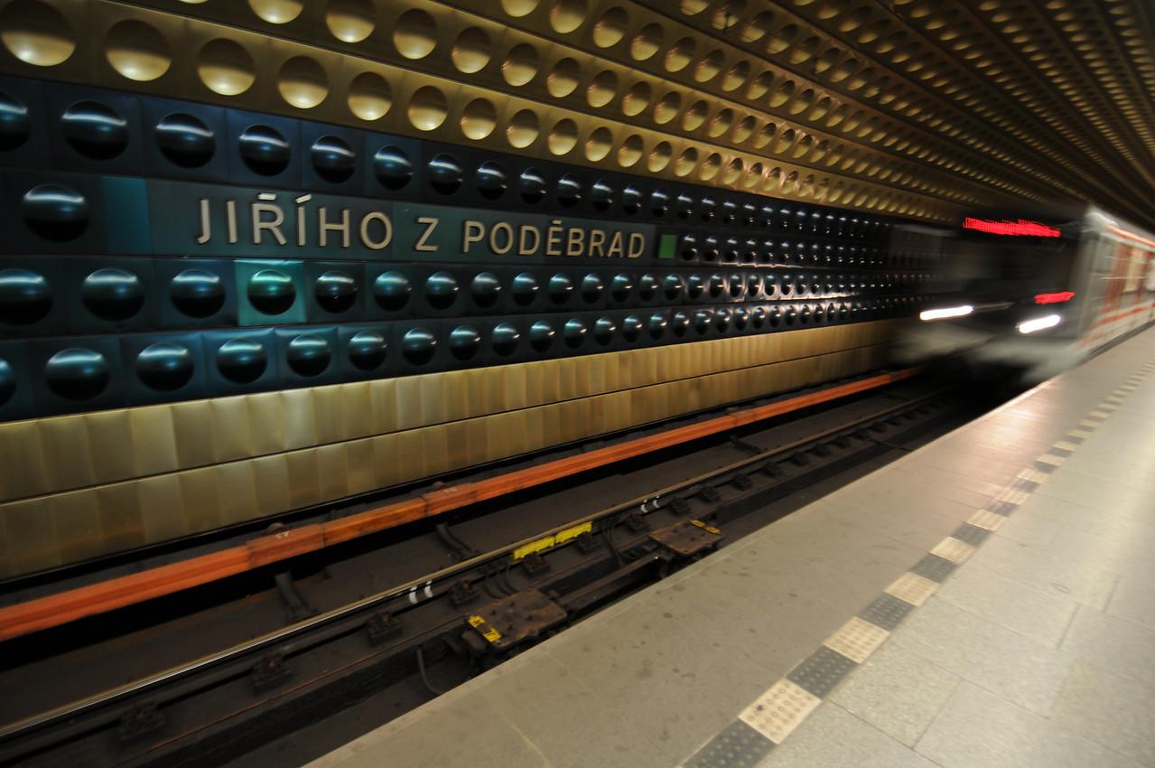 Groovy metro station interiors