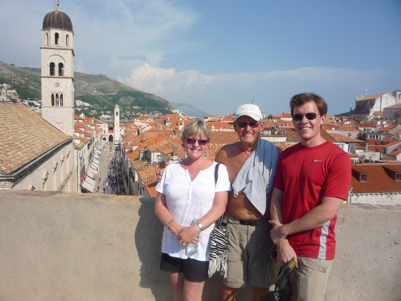 On the Old Town Wall in Dubrovnik