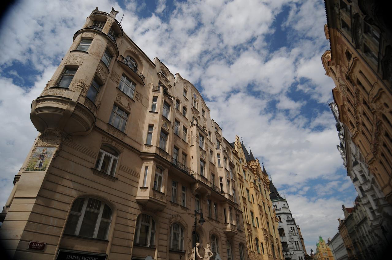 More Prague, cool clouds
