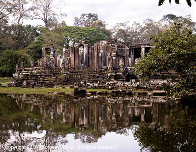 Reflections of Temple Ruins