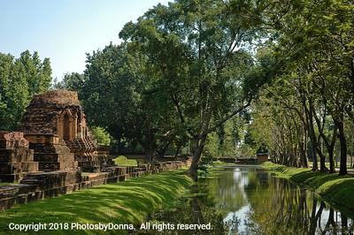 Peacefulness of Sukhothai