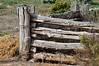 Part of the old fence outside the woolshed at Mungo National Park.