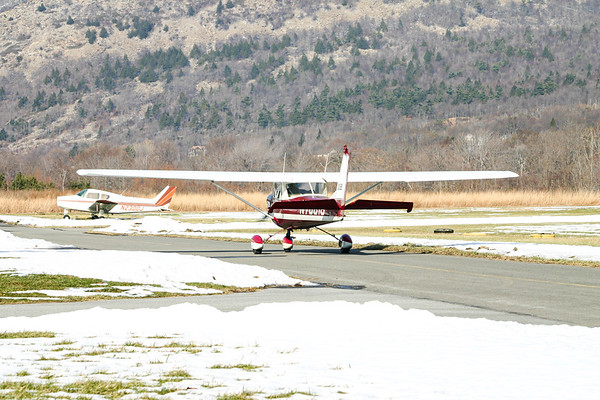 Exploring Slatington Airport and Appalachian Trailhead (December 2005)