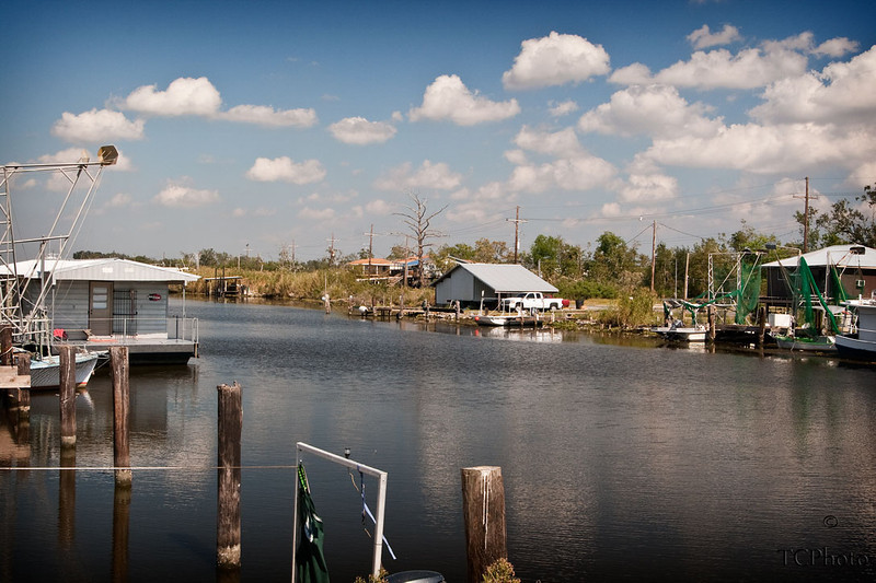 Life along the waterways and bayous can be beautiful.