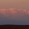 Sunset view on the Sierre de Gredos