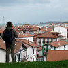 Overlooking Hondarribia