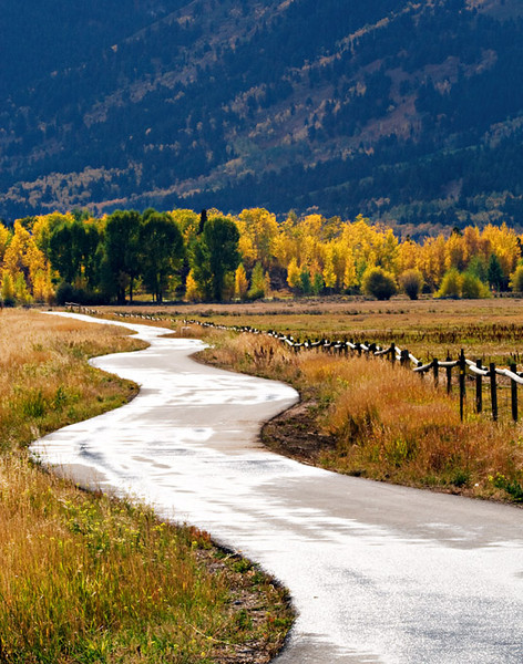 JACKSON HOLE BIKE PATH