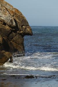 E21G1184 Nose rock Salt Point Park