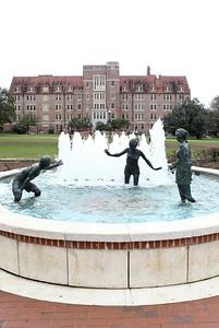 Legacy Fountain on Landis Green
