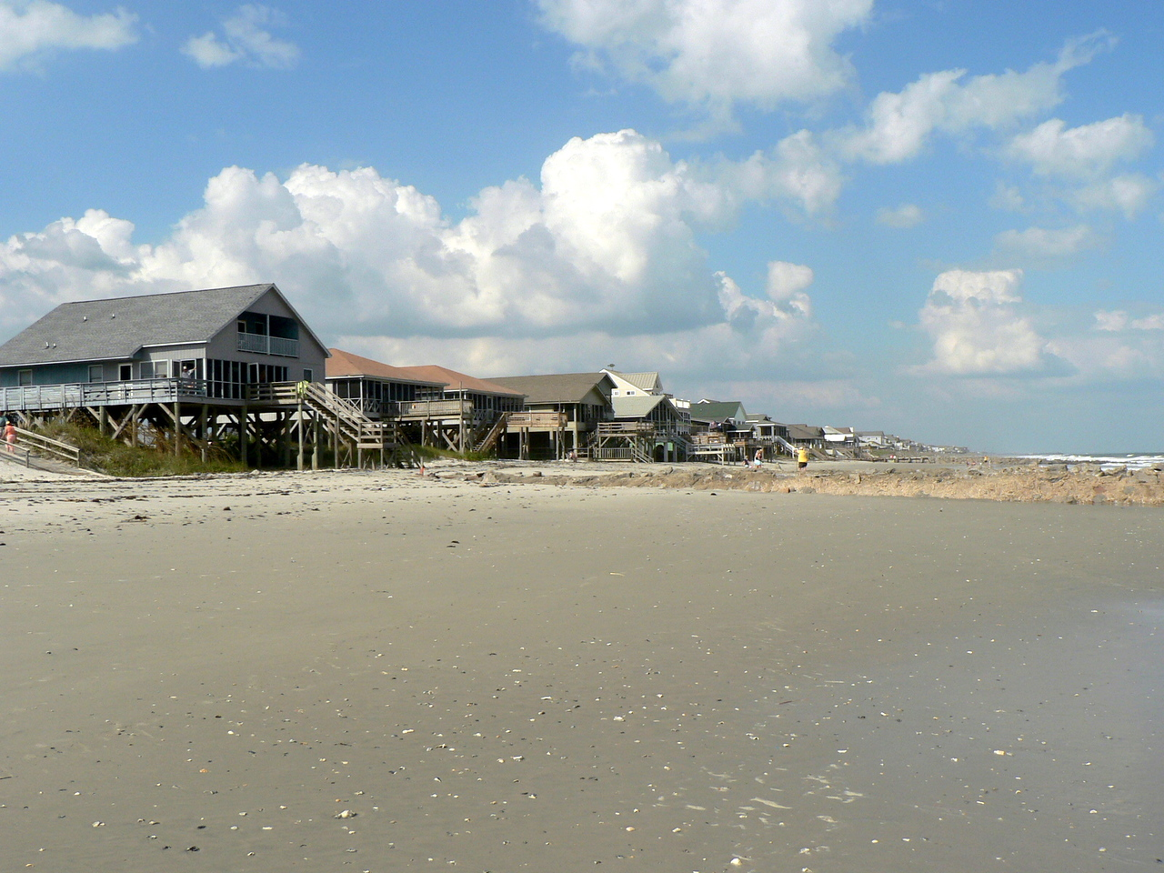 The beach at Pawly's Island