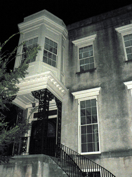 One of Savannah's haunted houses