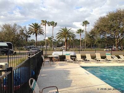 Wekiva Falls RV Resort, Sorrento, FL - March 2016