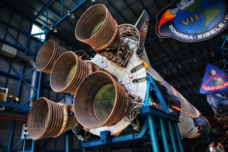Apolo VII Saturn V Rocket
