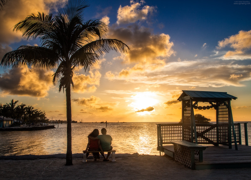 Sunset at Florida Keys