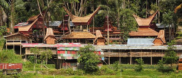 Sulawesi - Torajan village