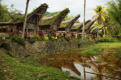 Sulawesi - Torajan village called Kete Kesu