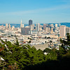 View from Corona Heights Park