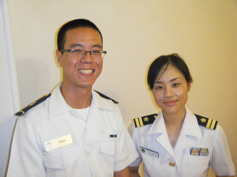 LT Yukako Ikeda is one of the detailers at MOCS, responsible for the training and disclipline of the students.