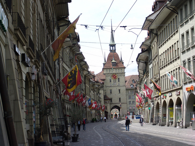 Bern, Switzerland on way to Chamonix