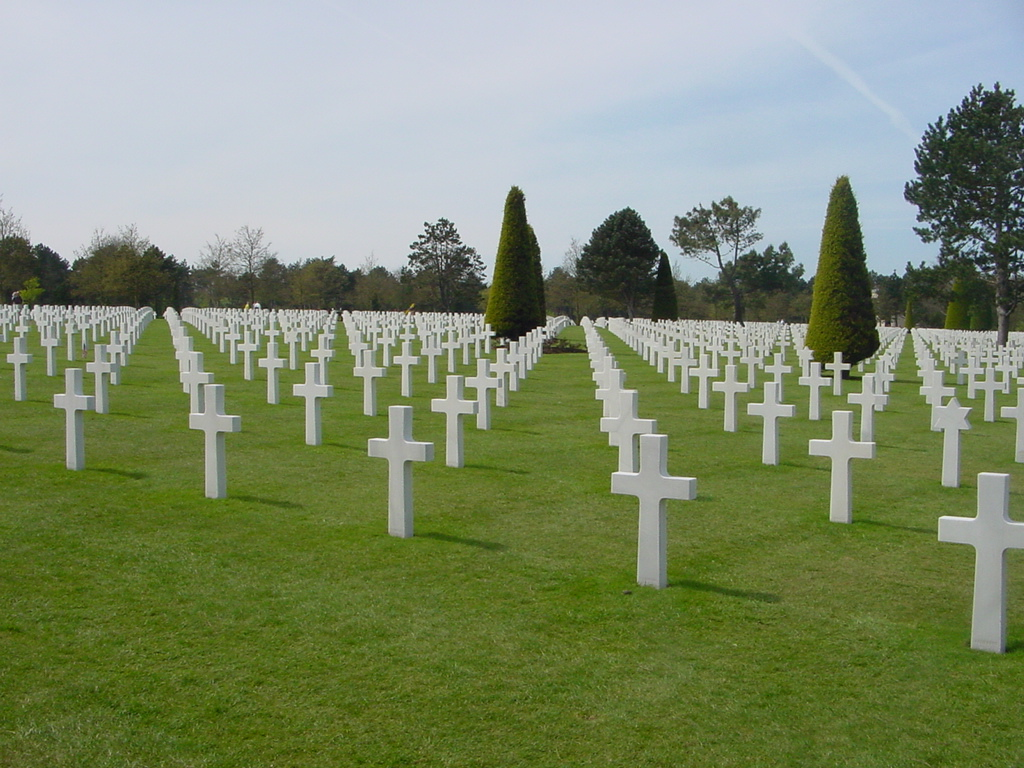 AMERICAN CEMETARY--NORMANDY