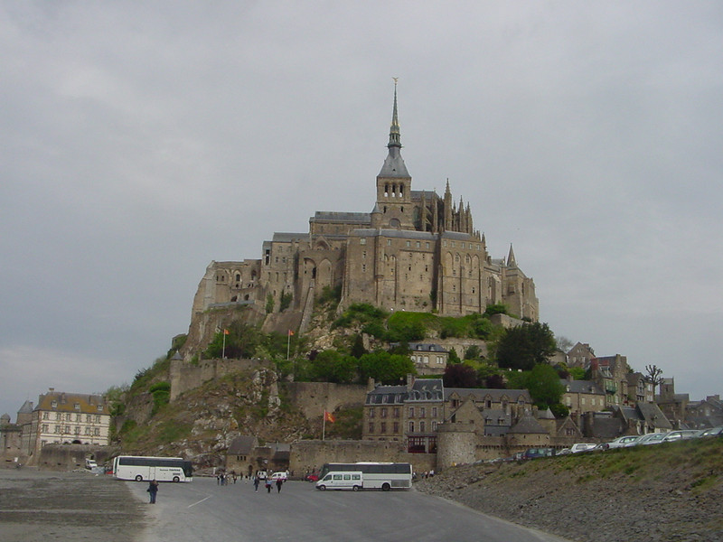 MONT ST MICHELE--NORMANDY