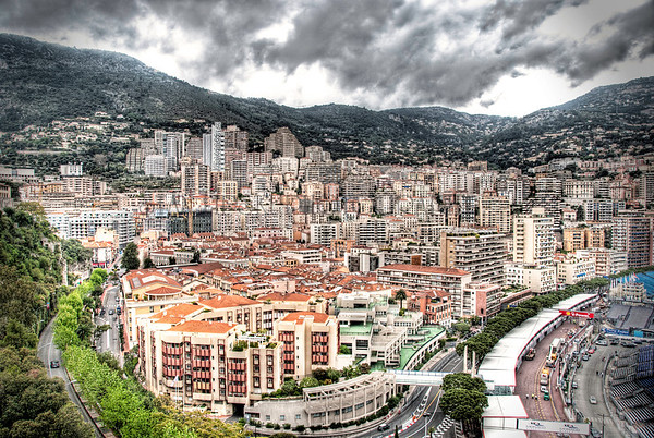 MONACO, PREPARING FOR THE GRAND PRIX DE MONACO