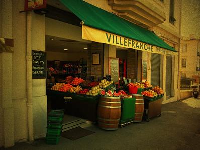 """PRODUCE"", VILLERFRANCHE-SUR-MER, FRANCE"