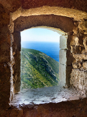 """ROOM WITH A VIEW"", EZE-LE-VILLAGE, FRANCE"