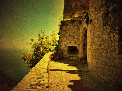 """VILLAGE DOORWAY"", EZE-LE-VILLAGE, FRANCE"