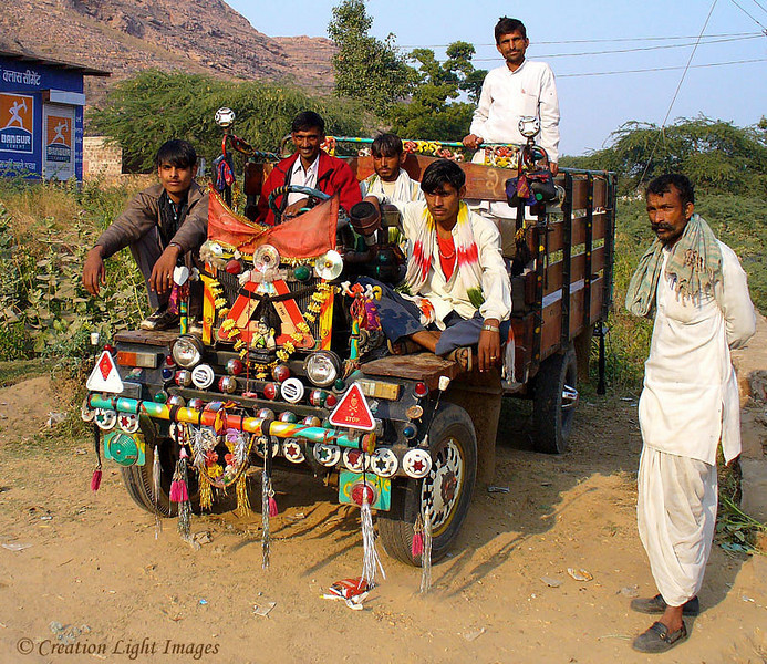 Rajasthani Guy's Truck