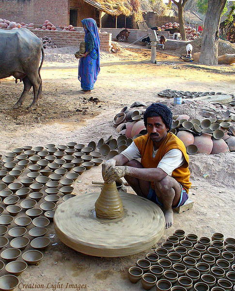 Village Potter, Uttar Pradesh