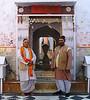 Hindu Priests At A Bateshwar Temple, Uttar Pradesh