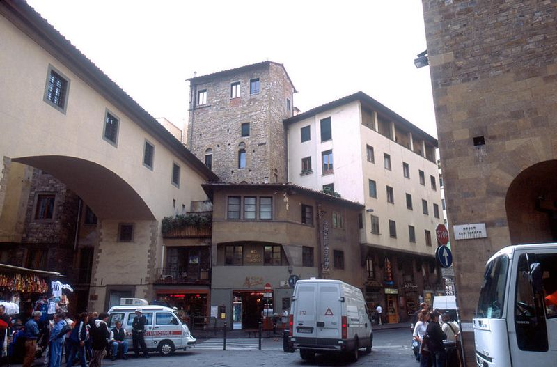 South end of the Ponte Vecchio