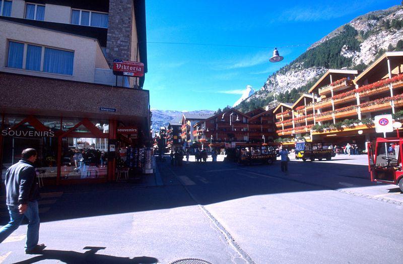 Main square in Zermatt