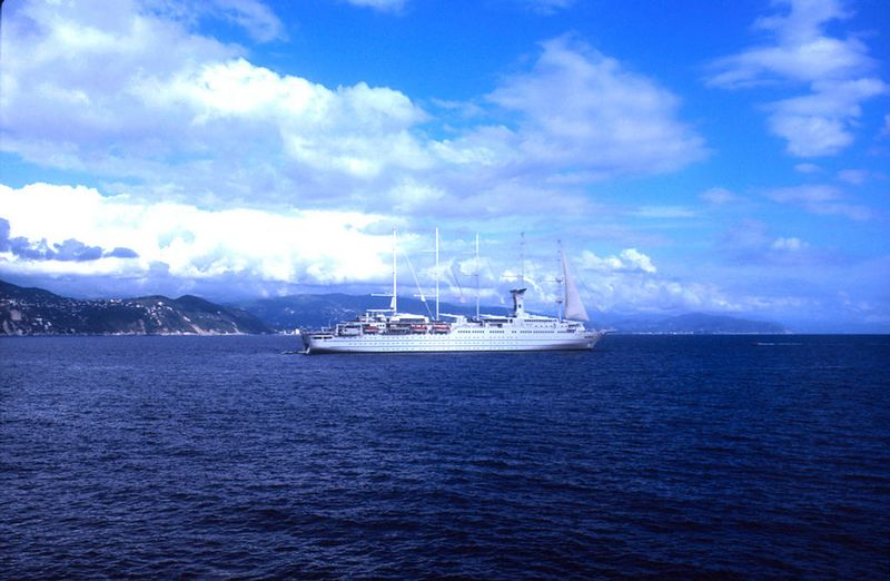Club Med II off Portofino