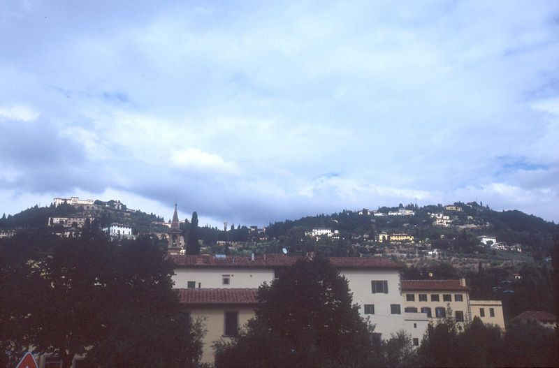 Fiesole above Firenze