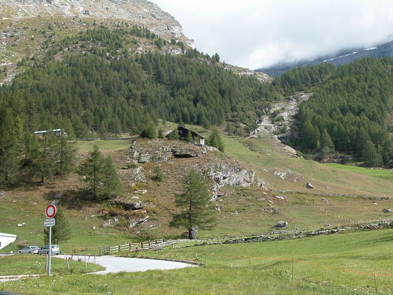 View from Simplon Pass