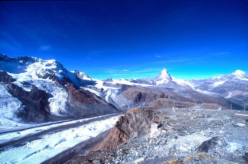 Glaciers on the Gornergrat