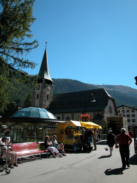 Zermatt - church