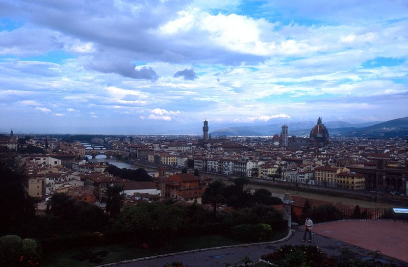 Firenze from the Piazzale Michelangelo