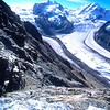 Glaciers on the Gornergrat