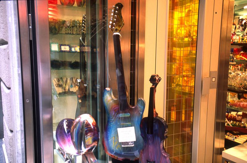 Firenze - glass guitar