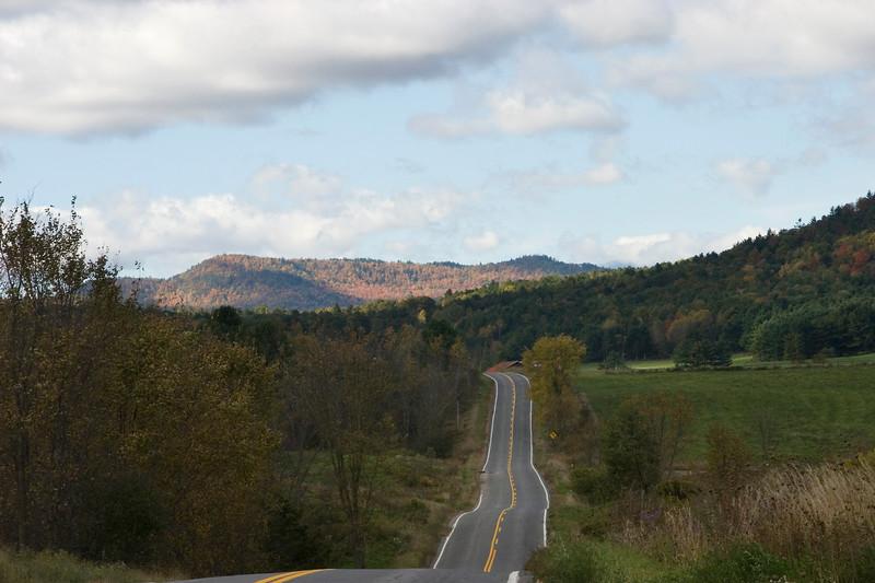 Road through the Adirondacks
