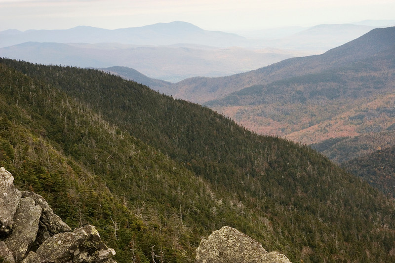 The view from Mt. Mansfield.