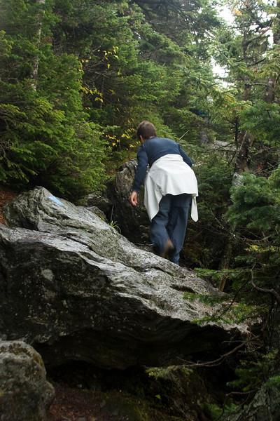 More tough trail.