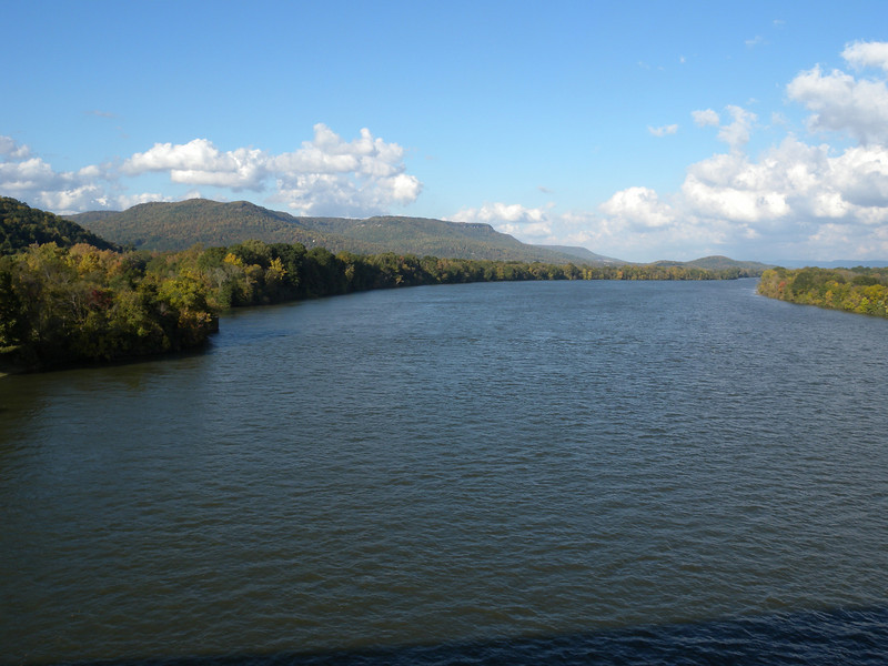 Tennessee River at South Pittsburg, Tennessee